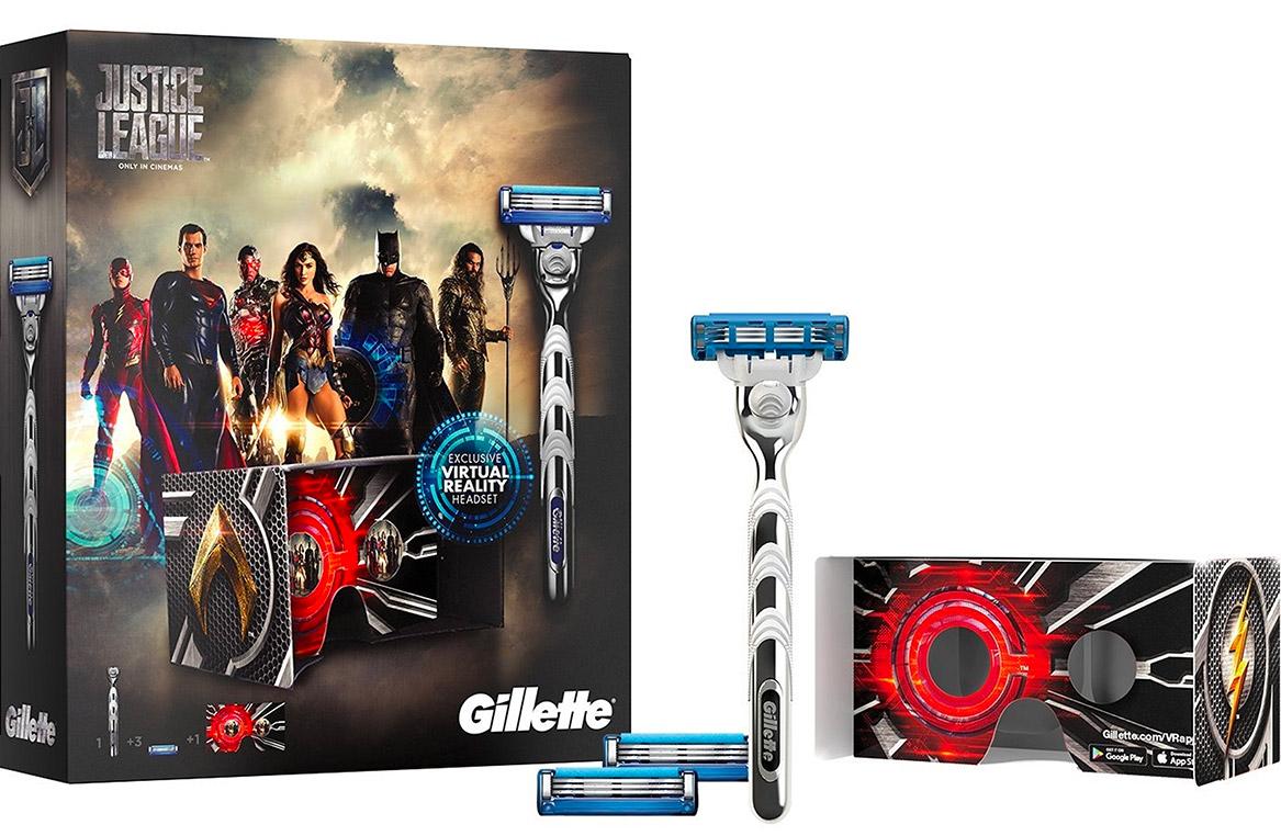 Gillette Justice League Film Partnership Warner Bros DC