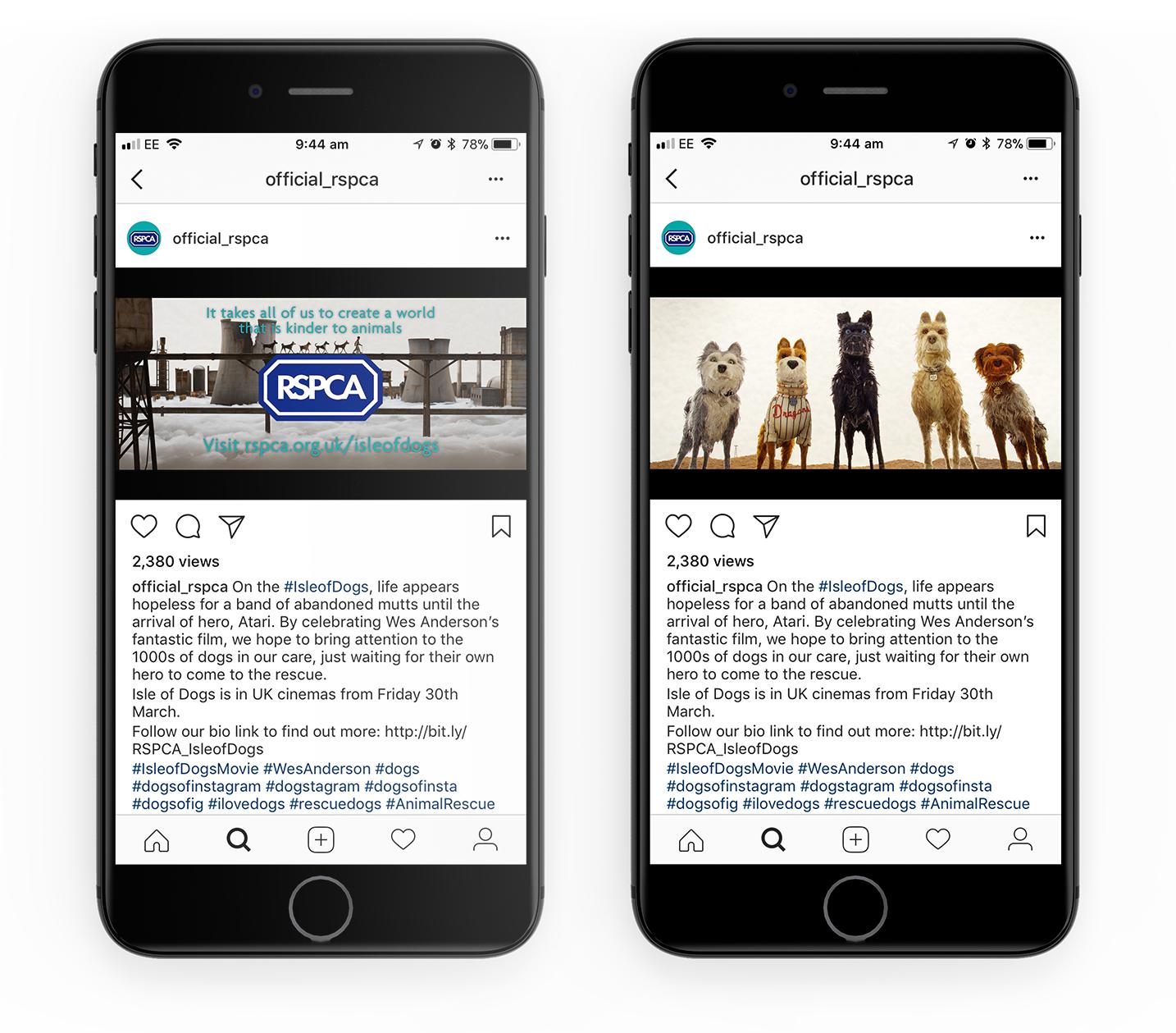 20th Century Fox Film Partnership Isle of Dogs Promotion Social Media