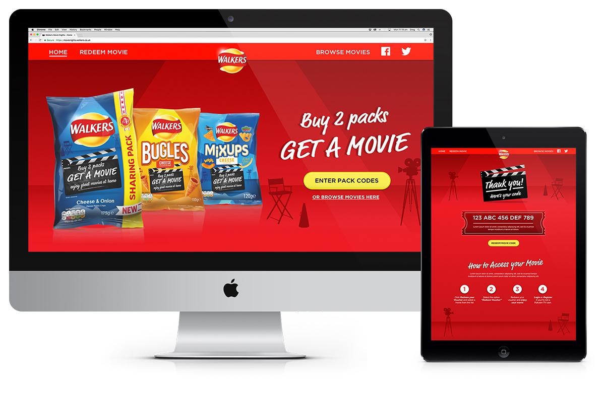 Rakuten TV Walkers Brand Partnership Bugles Sales Promotion Agency