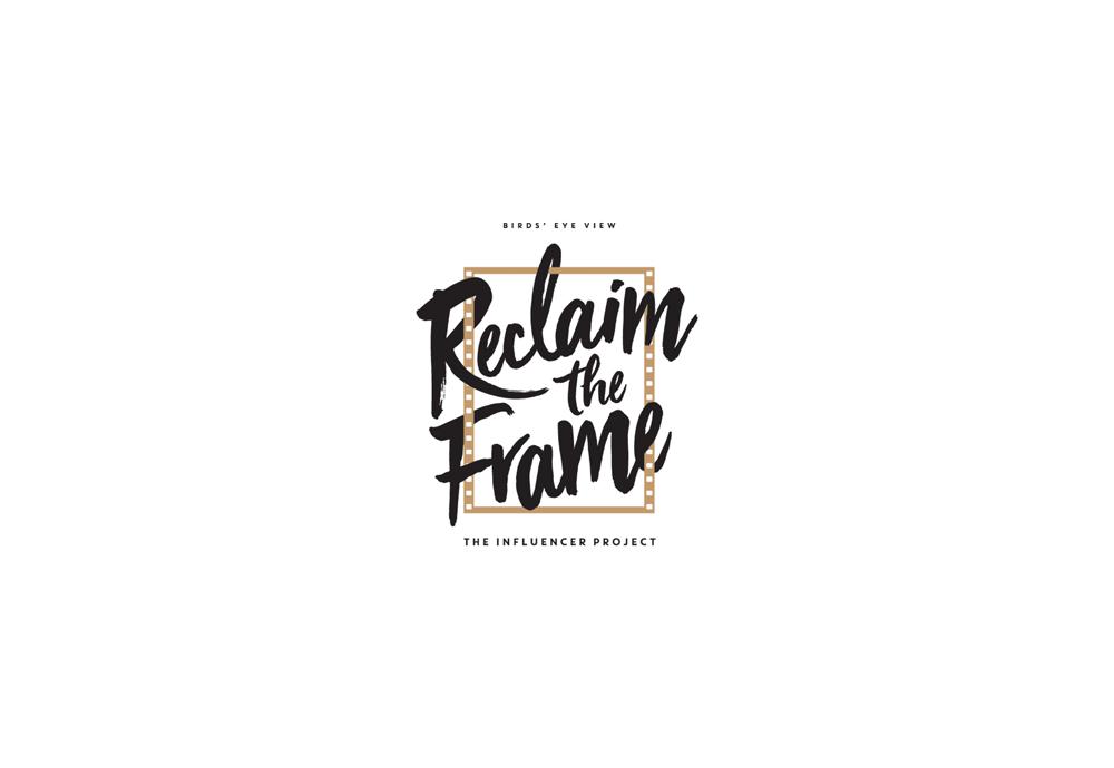 Reclaim the frame logo